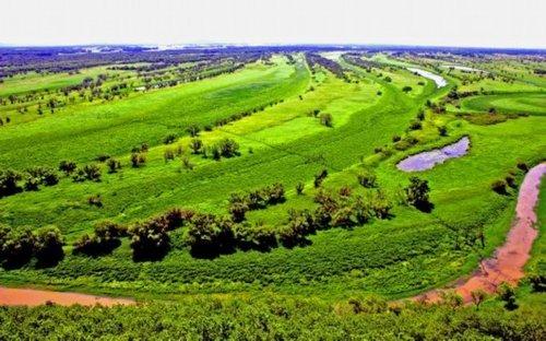 虎林市美景——珍宝岛湿地自然保护区