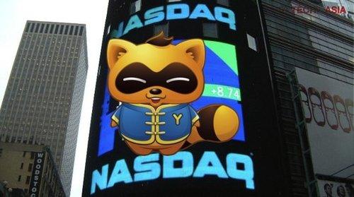 WSJ:YY成功上市 市场重拾中概股信心