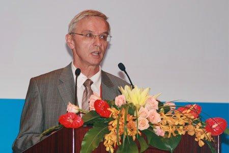 图文:法国电力公司亚太区中国部CEO马平川
