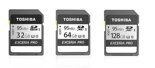 支持4K极清拍摄 东芝推出极至超速N401系列SD卡