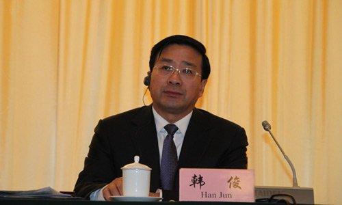 图文:国务院发展研究中心副主任韩俊