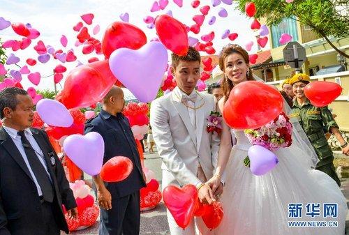 李宗伟与黄妙珠举行华人礼俗婚礼仪式