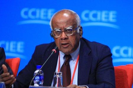 图文:印度政府前秘书长司瓦拉马克维什南