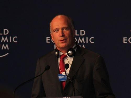 图文:WEF首席商务官Robert Greenhill致闭幕辞