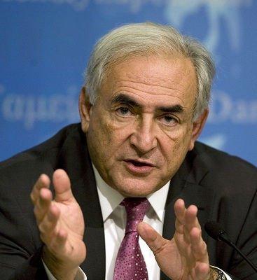 """国际货币基金组织总裁因涉嫌""""性侵犯""""在纽约被拘留"""