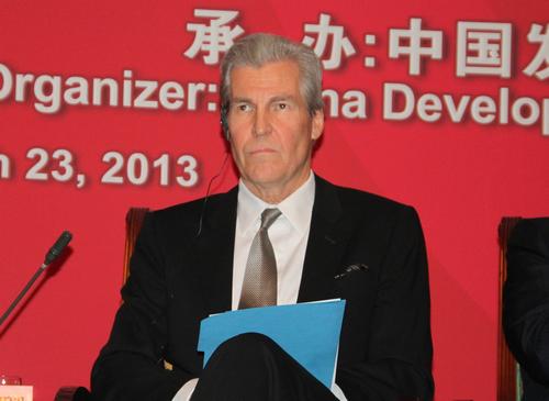 图文:梅西百货董事长、总裁特里·兰格伦