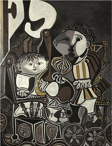 万达集团2816万美元拍得毕加索代表作《两个小孩》