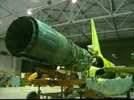 配备国产泰山发动机的枭龙战机已进行试飞_