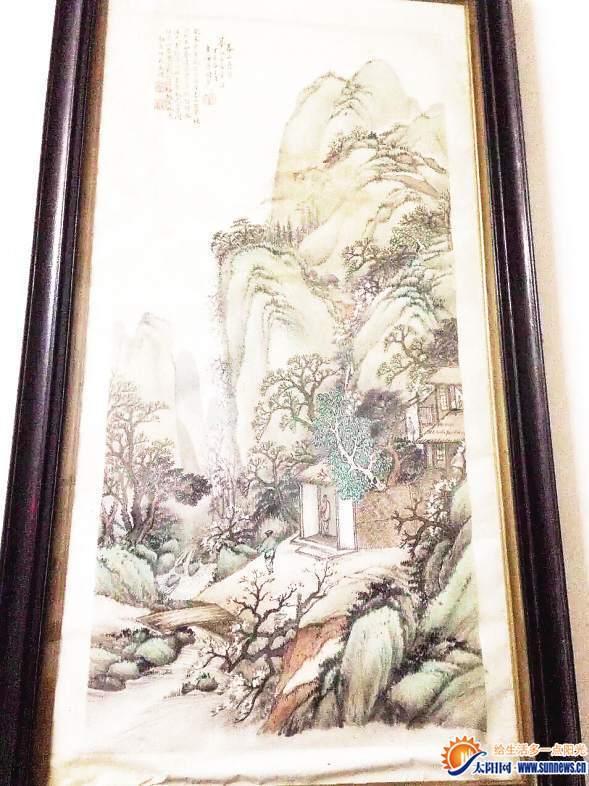 厦门一老宅雨天遭贼 4幅百年传家古画离奇被盗