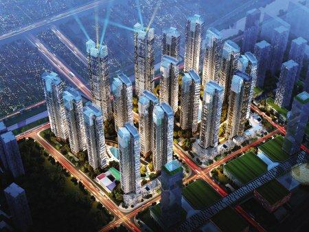 """旧城改造成""""迷你城市"""" 未来的王庄很高端"""