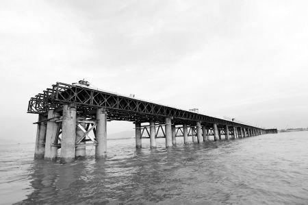 福州琅岐闽江大桥主桥全面开建 或2013年通车