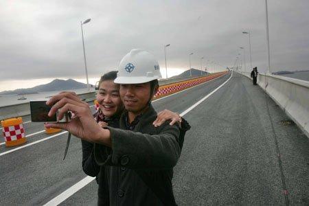 平潭海峡大桥今上午试通车 实现几代人梦想