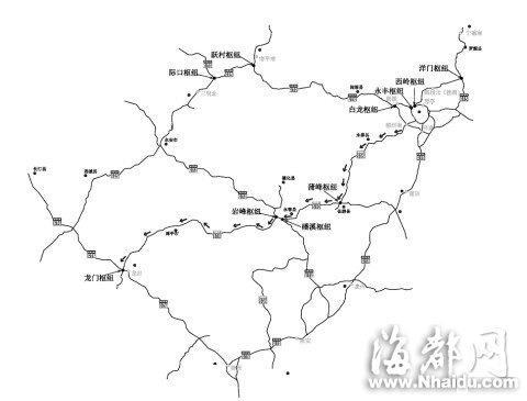 简单旅游路线图手绘