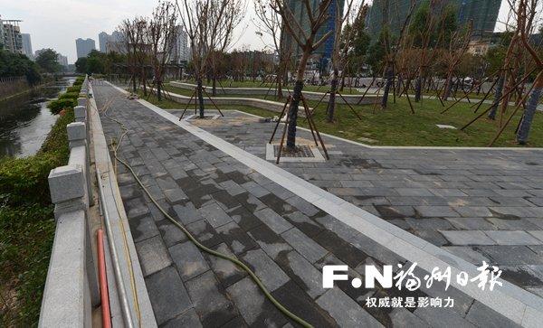 福州首个串珠公园今起开园 占地面积约9000平方米