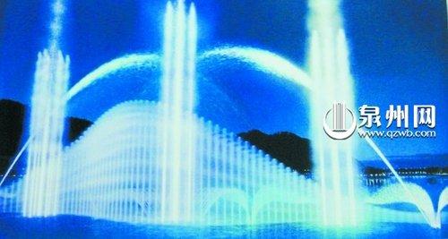 泉州东湖公园西湖公园将添水景音乐喷泉