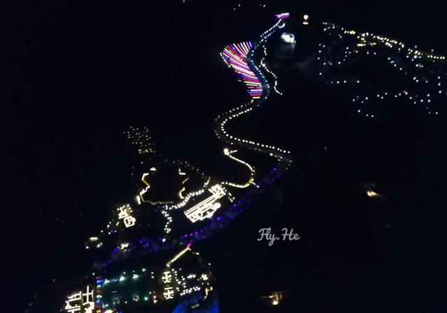 十里蓝山启动夜景工程