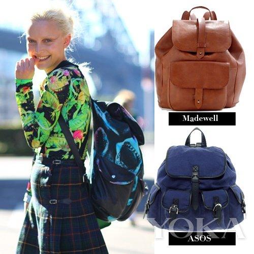 潮人最爱款 三种包包潮遍街头
