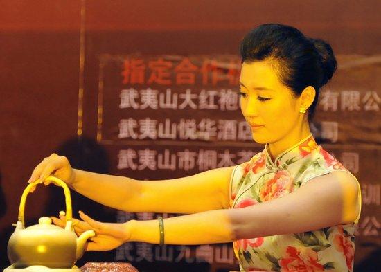 """""""大红袍杯""""第四届海峡茶艺电视公开赛开幕"""