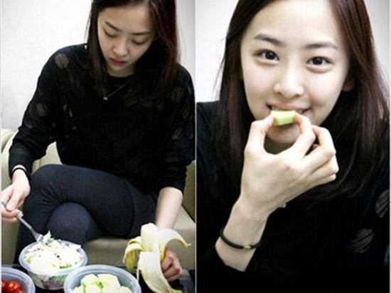 韩国明星减肥食谱太极端尹恩惠只喝手臂掰掰怎么瘦晕厥肉和酸奶图片