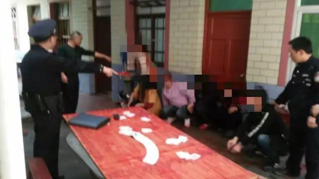 永春破获一起赌博案 5女1男在小巷子里被抓