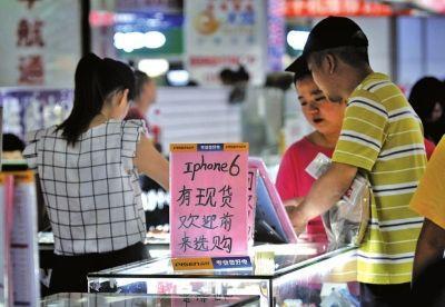 水货iphone6现福州市场仅7天 价格跌破6000元