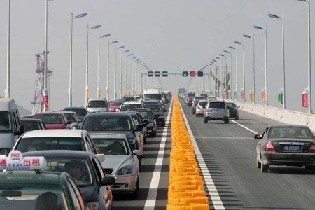 平潭海峡大桥开通了 开车上桥应注意这些问题