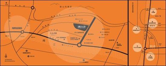 凯隆橙仕公馆:东江滨,掘金下一个金融街