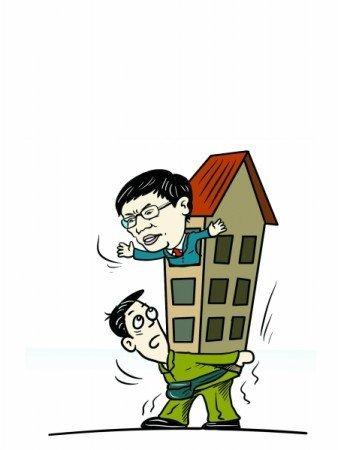 任志强称中国年轻人就该买不起房(图)