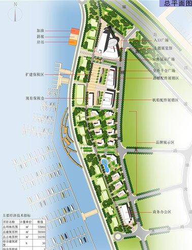 五缘湾游艇帆船国际展销中心概念设计出炉