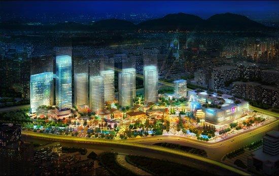 东二环泰禾广场销售中心5月19日耀世开放