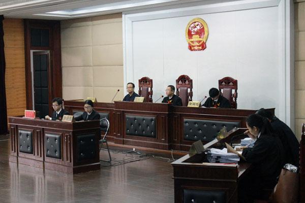福师大模拟法庭上演唇枪舌剑 锻炼学生司法技能