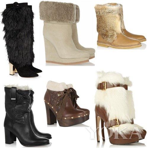 鞋边加绒 多感官抵御冬季严寒气候