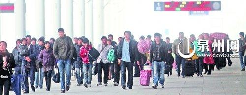 2011年春运服务手册:泉州春运大挪移