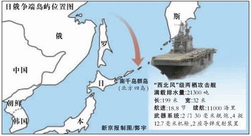 俄总统下令武装日俄争议岛屿 部署两栖攻击舰