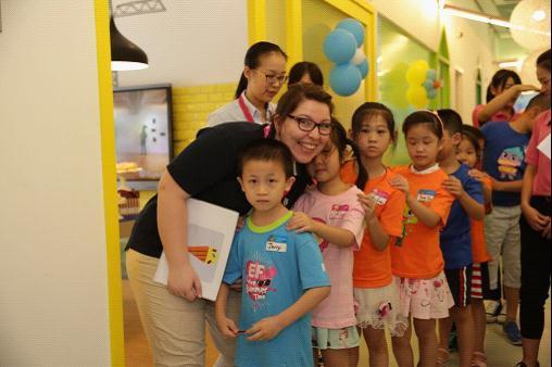 英孚教育青少儿进入福州市场  带来英语学习新体验