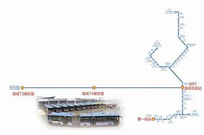 厦门BRT高崎机场站正式启用