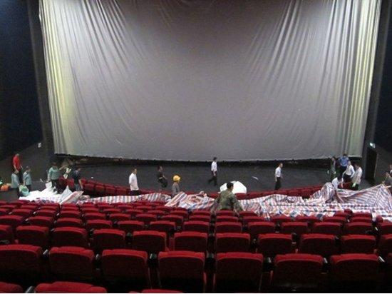 海西第一巨幕挂起 榕万达IMAX影厅让人惊叹