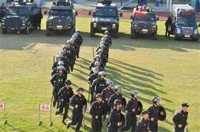 堪比反恐大片 福州特警举行史上最大规模跨区域演练