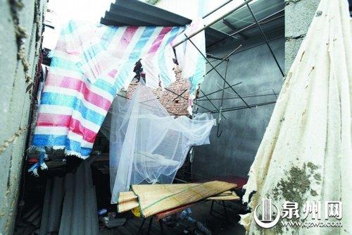 狂风暴雨 工房墙体倒塌一名工人不幸身亡(图)