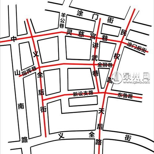 """泉州城南将织""""三横三纵""""路网"""