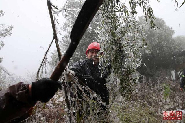 福建精准防御雨雪冰冻