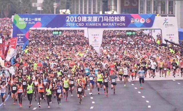 厦门马拉松圆满落幕 爱心企业为跑者提供赠饮暖心