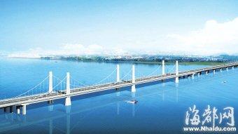螺洲大桥明年底通车 进出福州南大门更便捷