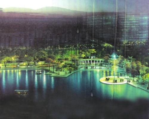 琴亭湖年底建成开放 五四北洪涝有救了
