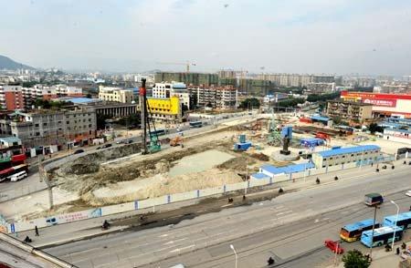 福州白湖亭地铁站下月开挖 上藤站春节后动建