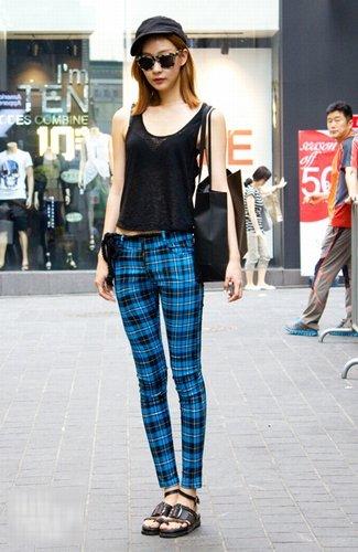 潮人真实街拍 直观穿衣新潮流