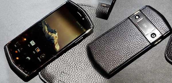 钛金属边框真皮后壳 8848钛金手机实拍