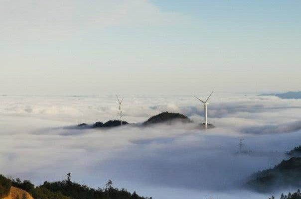 三明首个风电场――宁化鸡公岽48兆瓦风电项目全面并网发电