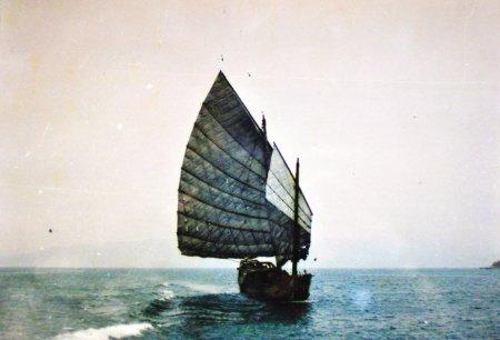 60年前的记忆:以前出平潭乘双帆船