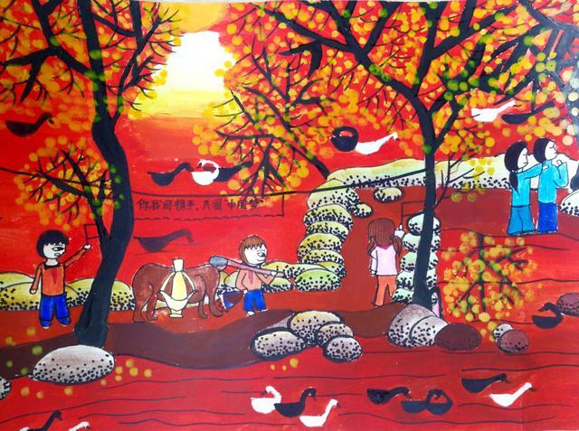 """中国梦,少年画 中国梦,少年说 ——第六届""""我的阳光童年""""少儿美术、征文大赛优秀作品展"""